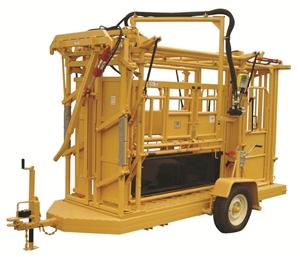 Portable Hydraulic Chute