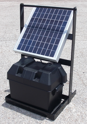 Speedrite 2000 Solar Stand Fence Charger